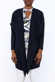 C. Luce Navy Duster Jacket - Side cropped