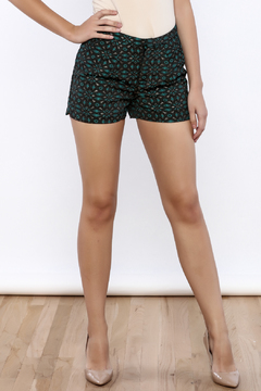 C. Luce Peacock Inspired Shorts - Product List Image