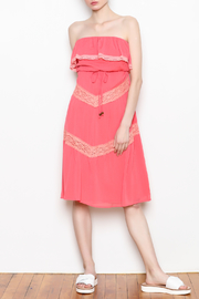 C. Luce Strapless Ruffle Dress - Product Mini Image