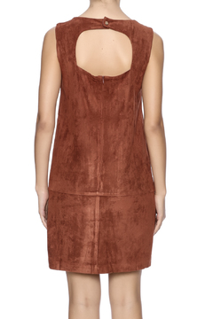 C. Luce Tobacco Faux Suede Dress - Alternate List Image