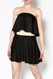 C/MEO COLLECTIVE Headliner Bustier Crop Top - Product Mini Image