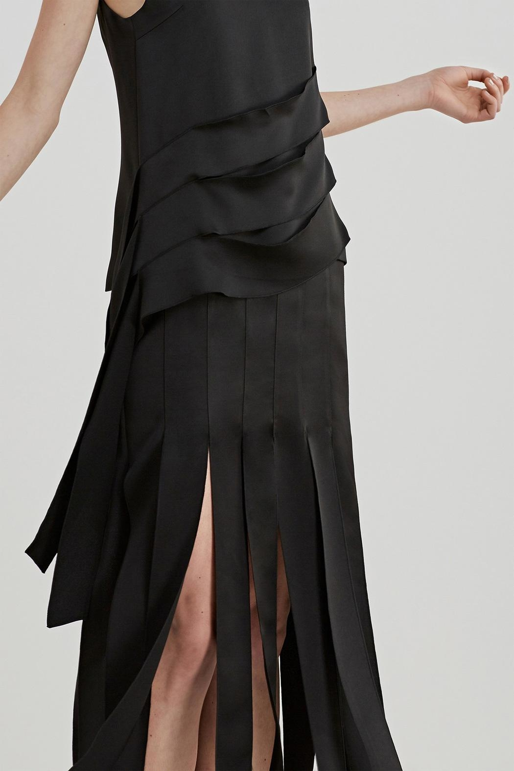 C/MEO COLLECTIVE Another Way Skirt - Back Cropped Image