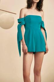 C/MEO COLLECTIVE Charged Up Playsuit - Front cropped