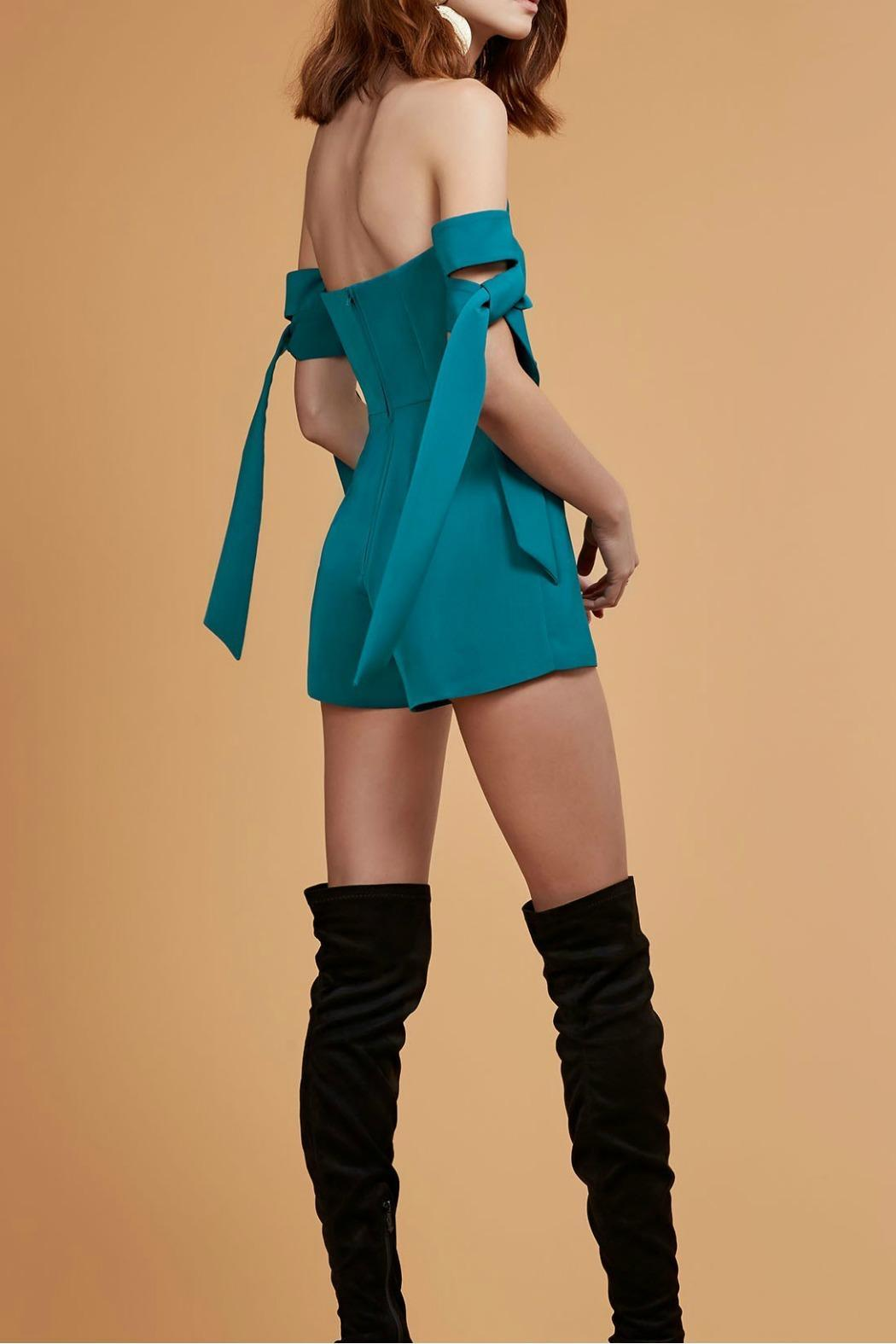 C/MEO COLLECTIVE Charged Up Playsuit - Side Cropped Image