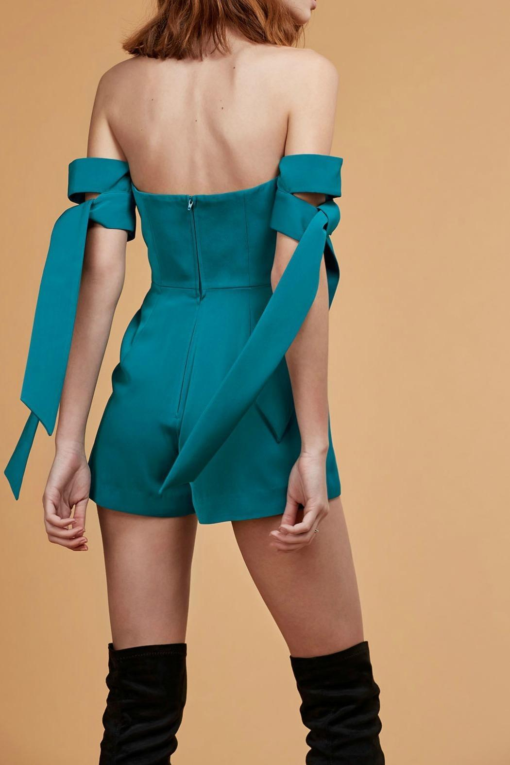C/MEO COLLECTIVE Charged Up Playsuit - Back Cropped Image