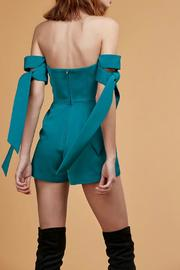 C/MEO COLLECTIVE Charged Up Playsuit - Back cropped