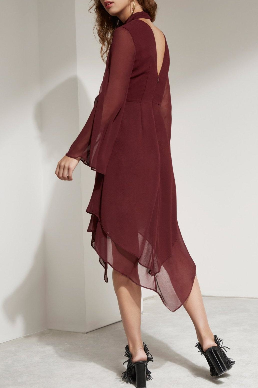 C/MEO COLLECTIVE Flowy Dress - Front Full Image