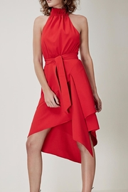 C/MEO COLLECTIVE Halter Neck Dress - Front cropped