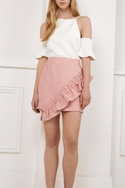 C/MEO COLLECTIVE Ruffle Mini Skirt - Product Mini Image