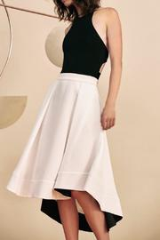 C/MEO COLLECTIVE White Statement Skirt - Product Mini Image