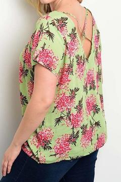 Shoptiques Product: Wildflower Green Blouse