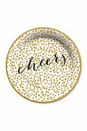 C.R. Gibson Cheers Dinner Plates - Product Mini Image