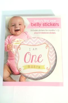 Shoptiques Product: Girl Belly Stickers