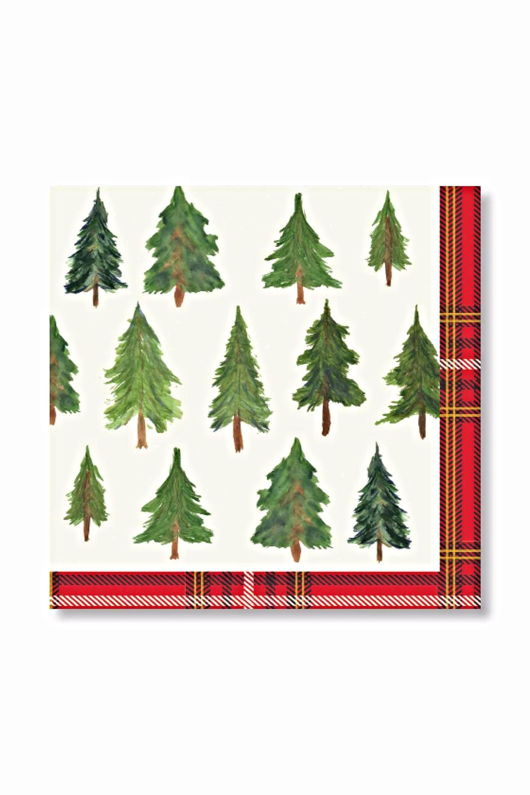 C.R. Gibson Plaid Lunch Napkins - Main Image