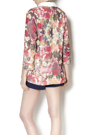 Gentle Fawn Floral Print Blazer - Back cropped