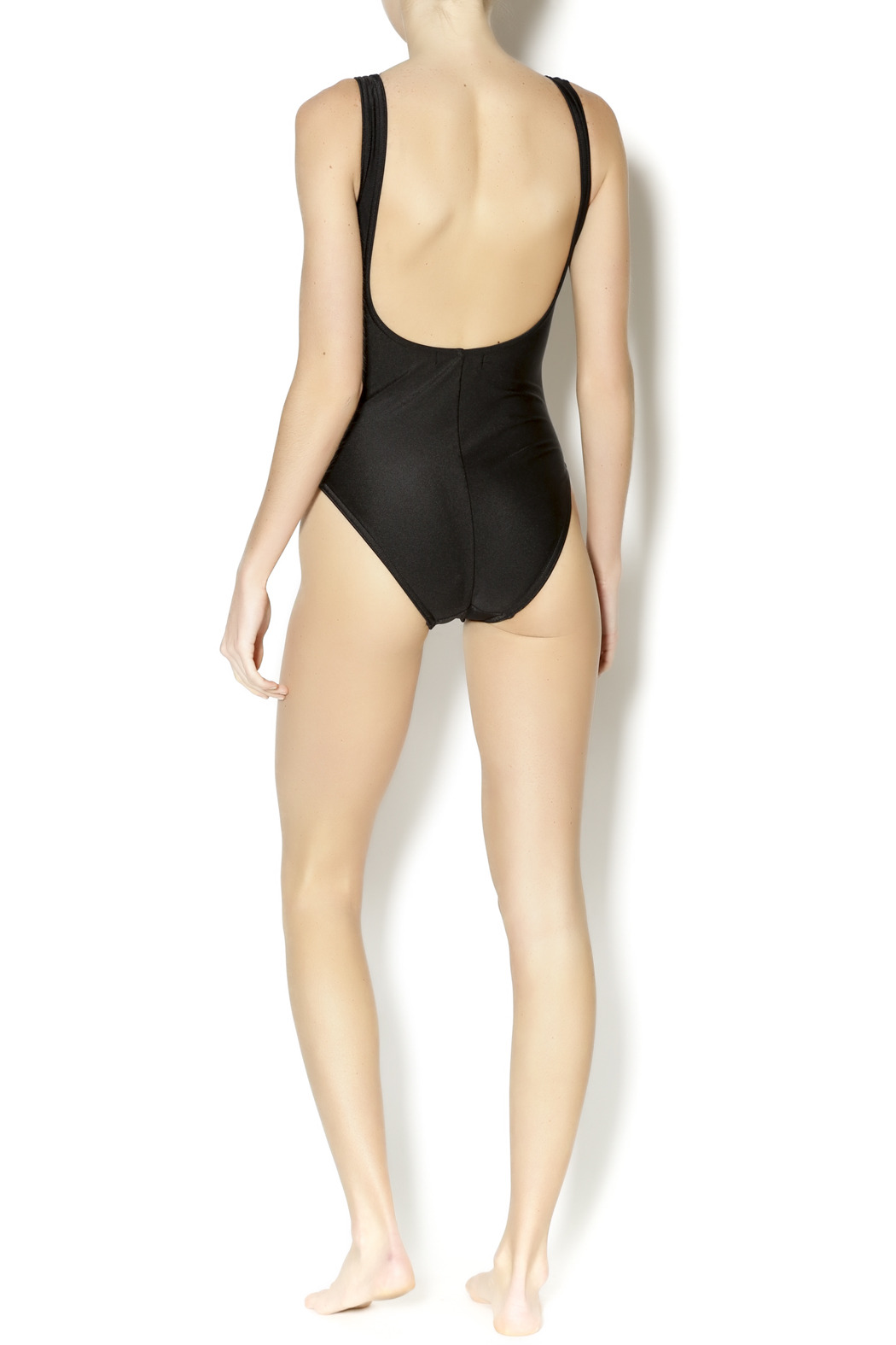 BeachCandy Shirred One Piece - Side Cropped Image