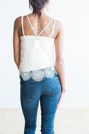 Bishop + Young Crochet Tank - Side cropped