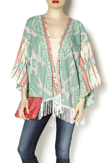 299e2e97e3b Umgee Usa Flower Bomb Kimono Top From Texas By Turquoise Cactus Shoptiques  | 2019 trends | xoosha