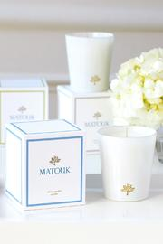 Matouk White Garden Candle - Product Mini Image