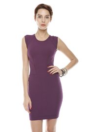 Shoptiques Product: Purple Bodycon Dress