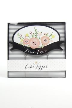 C R Gibson True-Love Cake Topper - Product List Image