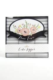C R Gibson True-Love Cake Topper - Product Mini Image