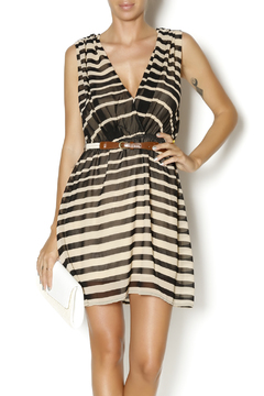 Shoptiques Product: Cappuccino And Licorice Dress