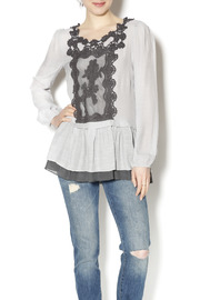 Shoptiques Product: Sweet Sophisticated Blouse - Front cropped