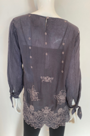 Johnny Was C14220-O - Isla Top - Side cropped