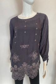 Johnny Was C14220-O - Isla Top - Front cropped