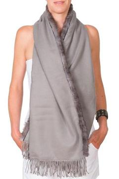 Shoptiques Product: Grey Mink Travel Wrap