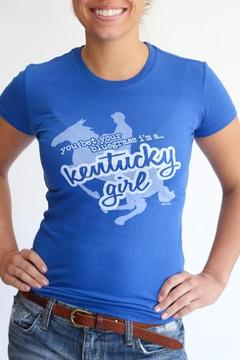 Great to Be Here Tees Kentucky Girl Blue - Product List Image