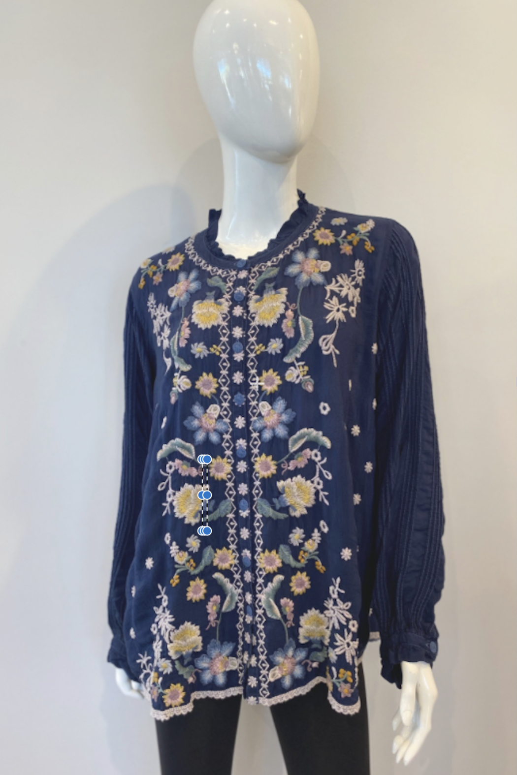 Johnny Was C18920-7 Tove Blouse - Main Image