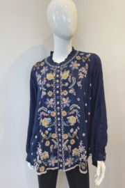Johnny Was C18920-7 Tove Blouse - Front cropped