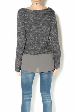 Shoptiques Product: Faux-layered Sweater