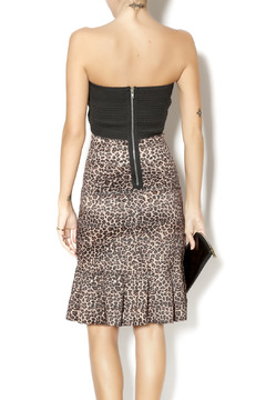 Byrds Fitted Cheetah Print Dress - Alternate List Image