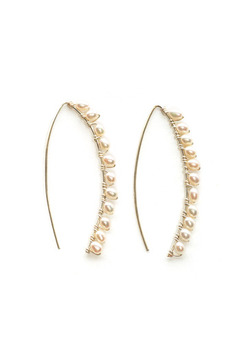 Shoptiques Product: Pearly Perfection Earrings