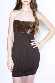 Passport Sparkly Brown Strapless - Product Mini Image