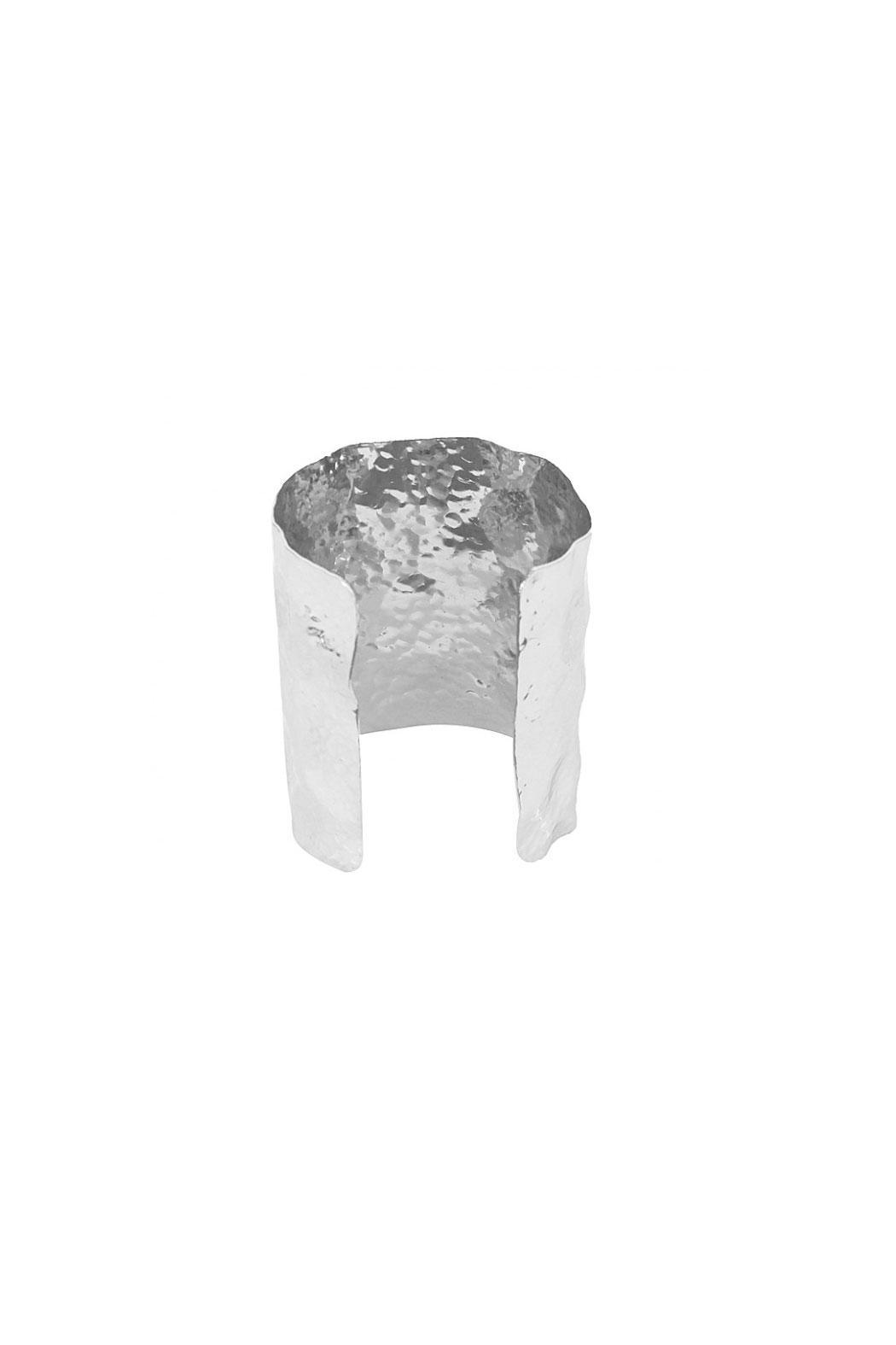 KTCollection Large Hammered Cuff - Side Cropped Image