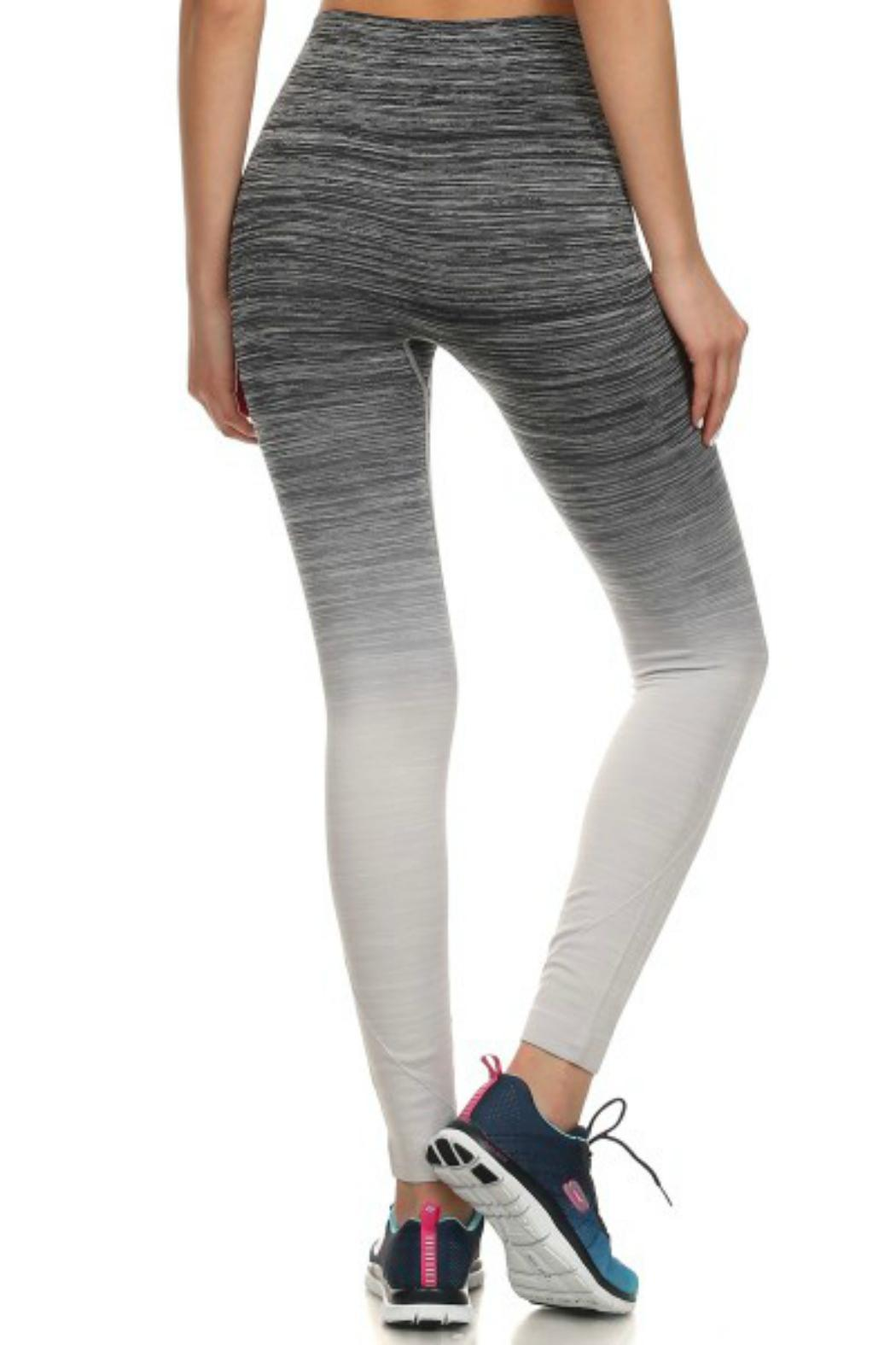 Pretty Little Things Ombre Workout Leggings from New Hampshire ...