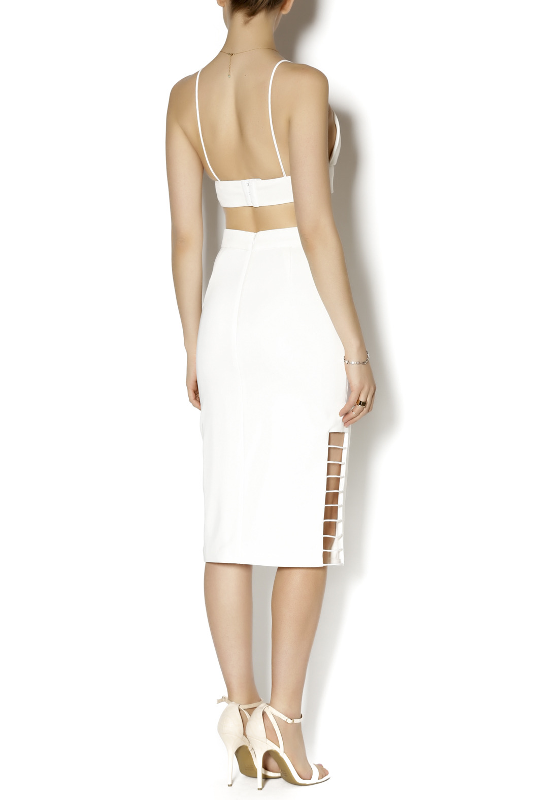C/MEO COLLECTIVE Airplane Skirt - Side Cropped Image