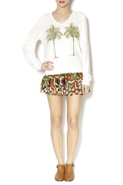 Wildfox Palms Tee - Front full body
