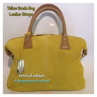 Shoptiques Product: Yellow suede bag