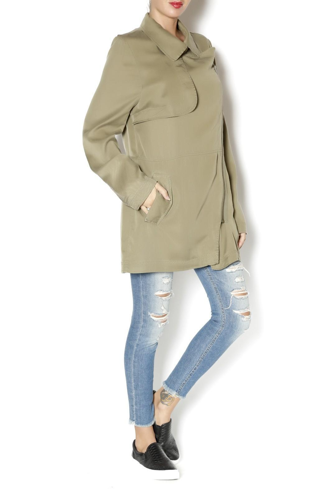 Gentle Fawn Intrepid Jacket Olive - Front Full Image