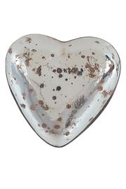 Chelsea Borough Home Mercury Glass Heart - Front cropped