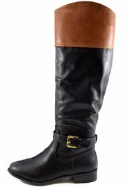 Bamboo Two-Tone Buckle Boot - Product Mini Image