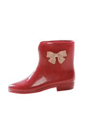 Shoptiques Product: Ankle Rain Boots - Side cropped