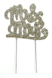 Mud Pie Glitter Cake Topper - Product Mini Image