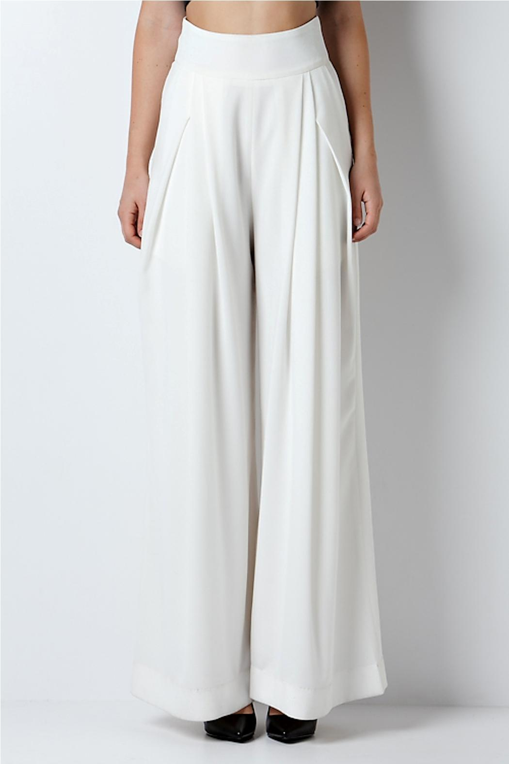 CQ White Dressy Pants from Miami by Secret Vanity — Shoptiques