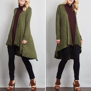 Shoptiques Hunter Green Cardigan